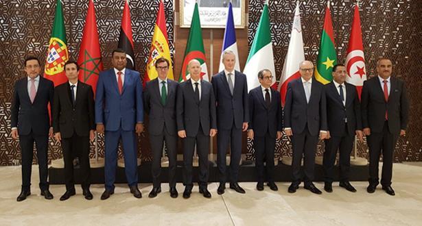 """وفد مغربي يشارك بالجزائر في الاجتماع الوزاري الثالث حول """"التمويل والاستثمار"""" لدول الحوار 5+5"""