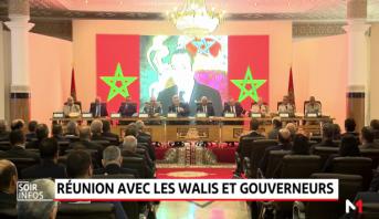 Fête du Trône: le ministre de l'Intérieur se réunit avec les walis et gouverneurs