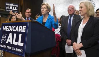 Primaire démocrate américaine: l'alliance Warren/Sanders se fissure