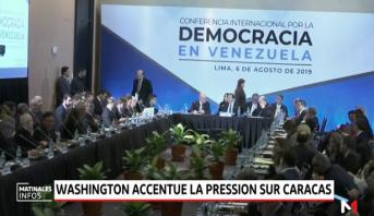 Washington accentue la pression sur Caracas