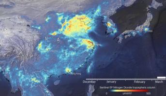منظمة الأرصاد الجوية: انخفاض انبعاثات الكربون المرتبط بكوفيد-19 لن يوقف التغير المناخي
