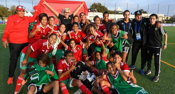 الألعاب الإفريقية .. المنتخب المغربي النسوي يحرز الميدالية البرونزية