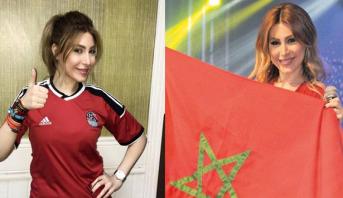 """الفنانة اللبنانية يارا تعلق على قمة """"أسود الأطلس"""" والفراعنة بـ""""الكان"""""""