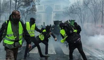 """أحكام قضائية في حق ألفي شخص منذ بداية مظاهرات حركة """"السترات الصفراء"""" بفرنسا"""