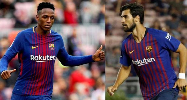 """مينا وأندري غوميش يغادران برشلونة إلى """"البريمرليغ"""""""