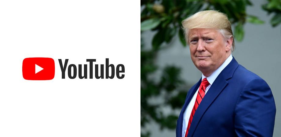 YouTube suspend Trump pour une durée indéterminée