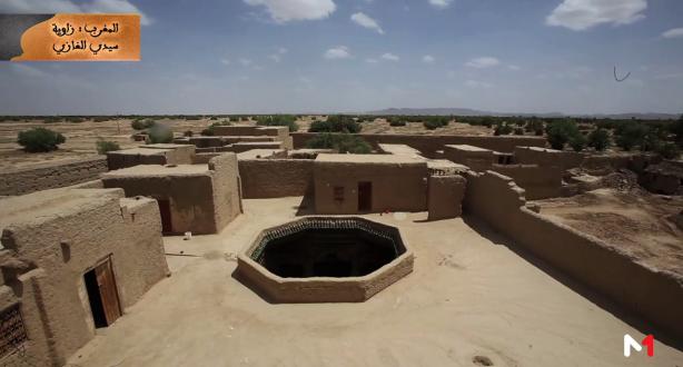 ألف زاوية و زاوية : زاوية سيدي الغازي - المغرب