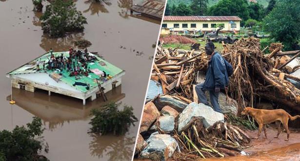 حصيلة ضحايا الإعصار بزيمبابوي قد تصل إلى 300 قتيلا
