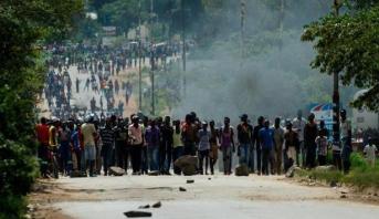 زيمبابوي .. قتلى وجرحى في احتجاجات قرب العاصمة