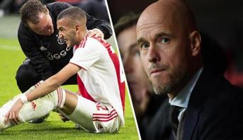 مدرب أياكس يعلق على إصابة زياش والهزيمة في الدوري الهولندي