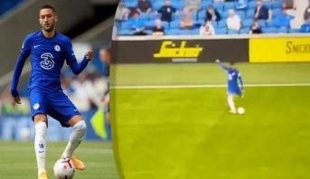 يسرى زياش الساحرة تثمر هدفا لتشيلسي في أول مباراة كأساسي