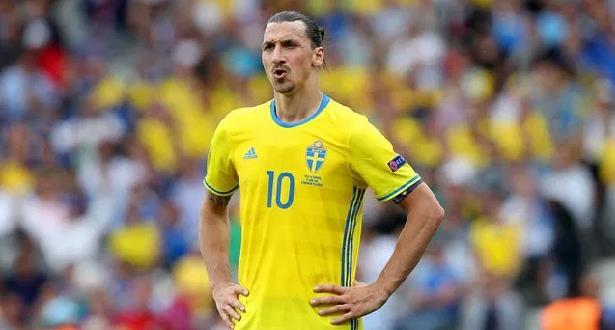Foot: Ibrahimovic forfait pour l'Euro pour blessure