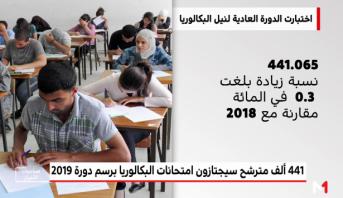 امتحانات الباكلوريا دورة 2019 .. أرقام ومعطيات رسمية