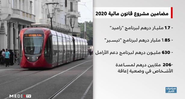 """""""زووم المغرب"""" .. مضامين مشروع قانون المالية 2020"""